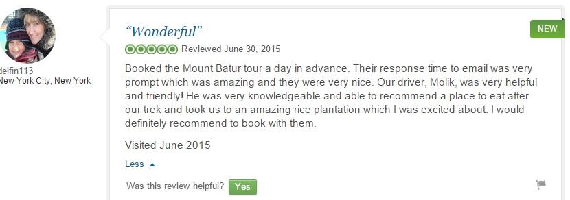 TREKKING IN BALI - BEST RECCOMENDED