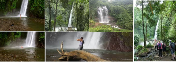 MOUNTAIN TREKKING TO WATERFALL IN BALI