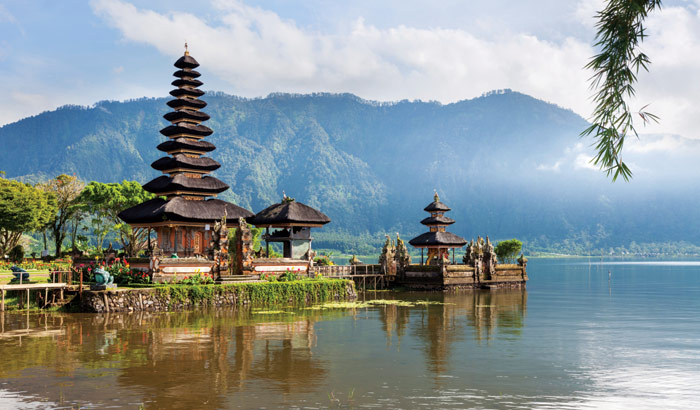 bali twin lakes hiking tour