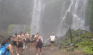 hike with 10 persons to sekumpul village to see waterfalls