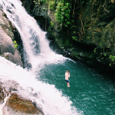 sambangan-waterfall-trekkking-guide-and-jumping-at-kembar-waterfalls