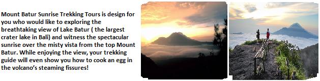 Mount Batur Trekking Package