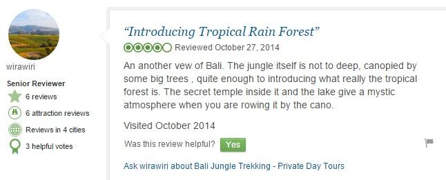 Tamblingan Jungle Trekking