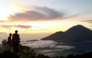 trekking in mount batur bali