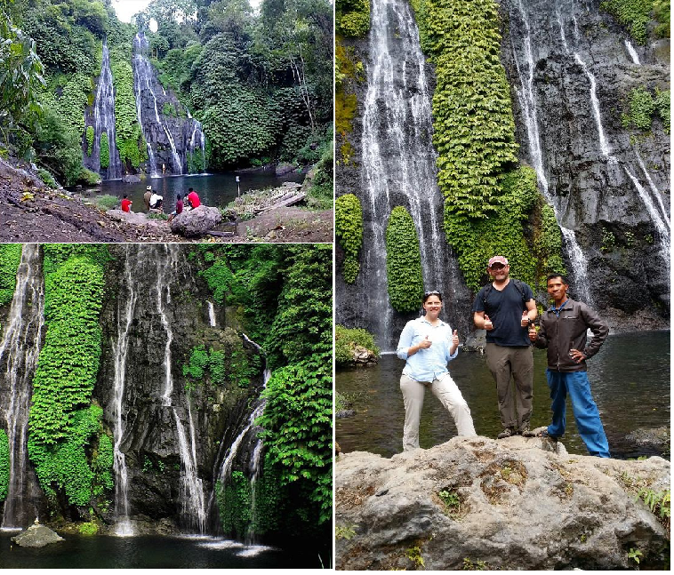 Banyumala waterfall jungle trekking tour