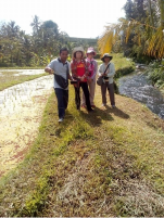 Jatiluwih rice field trekking with Bali Jungle Trekking Guide