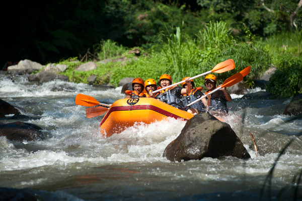 bali ayung rafting and trekking tour