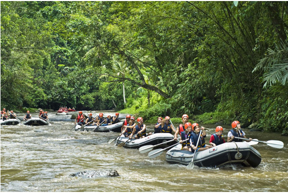 rafting and trekking in bali