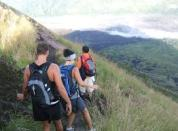 Hiking to Volcano in Bali