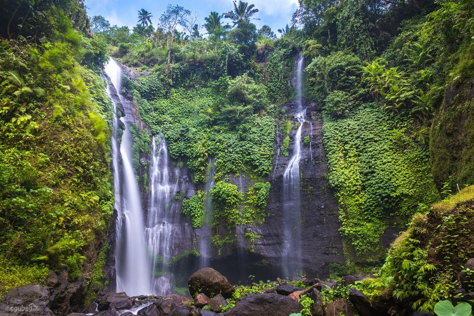 Best waterfall in bali