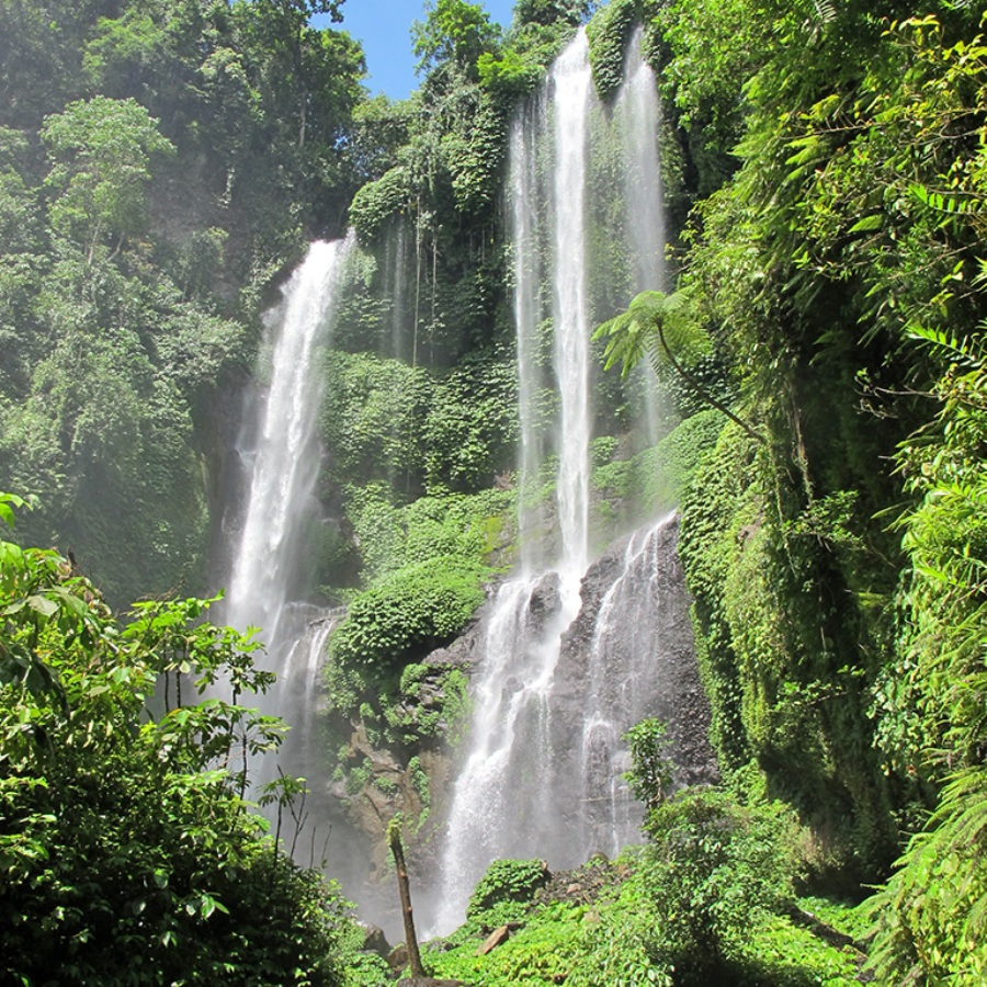 most beautiful waterfalls in bali