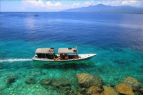 trekking and snorkeling at Menjangan island Bali