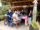 Balinese lunch experience after finish our hiking Tour
