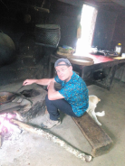 Learn the proccesing how to make coffee powder with Bali Jungle Trekking Team