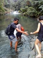 sambangan hiking adventure with Bali Jungle Trekking Team Guide