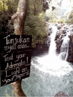 Sambangan Sacred Garden Waterfall Trekking and Hiking Tour with Bali Jungle Trekking Team Guide
