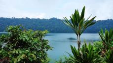 Tamblingan lake view from Dalem Temple