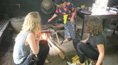 Trekking around coffee plantation with Bali Jungle Hiking Team