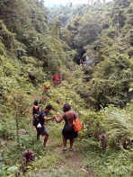 Trip to sambangan Village with Bali Jungle Trekking Team Guide