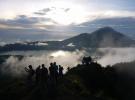 Best moment of climbing Mount Batur Bali