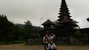hiking to Mount Agung with bali jungle trekking company