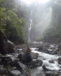 Visiting sekumpul waterfalls