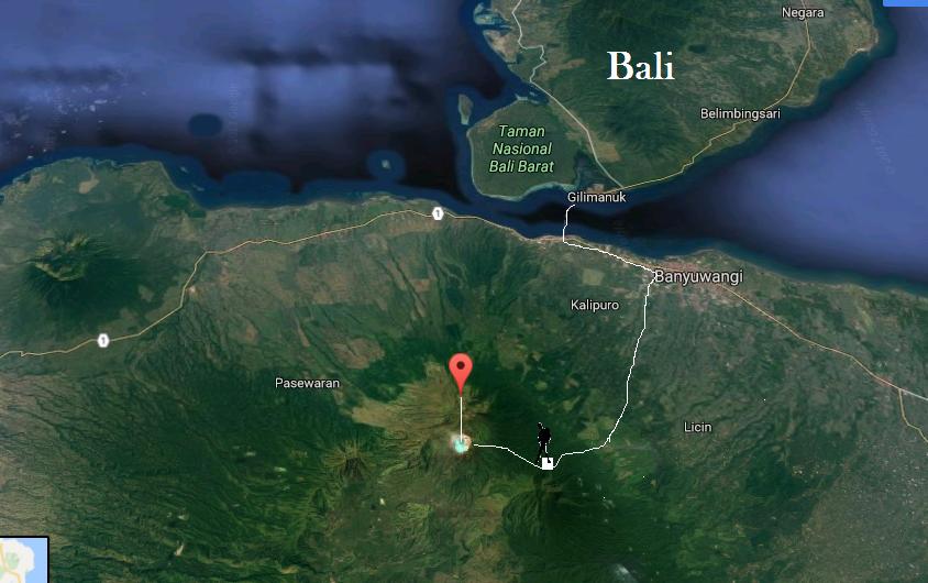 Java Volcano Tour