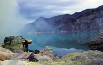 Trekking to Mt Ijen from Bali