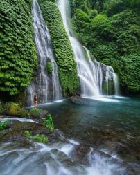 Beautiful Waterfall Bali