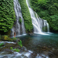 Beautiful Waterfall Bali