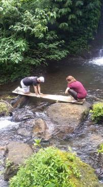 Hikinf to banyumala waterfalls Bali