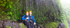 CANYONING ADVENTURE TOUR IN GITGIT VILLAGE NORT BALI