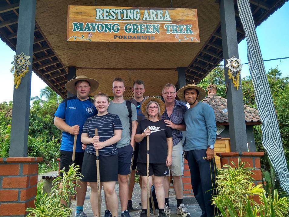 Bali Jungle Trekking Group to MayongVillage